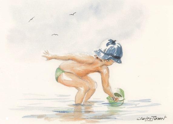Aquarelle de Claire Jamet